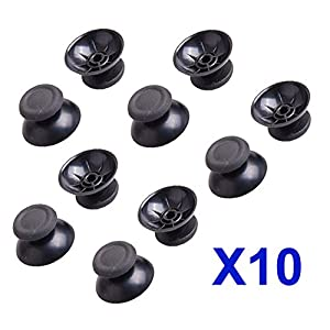 10x PS4 Controller Analog Joystick Thumbstick Knopf Kappe für Sony PlayStation 4