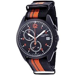 Hamilton H76582933 - Reloj (Reloj de pulsera, Masculino, Acero inoxidable, Negro, Negro, Marrón, Gris, Zafiro)