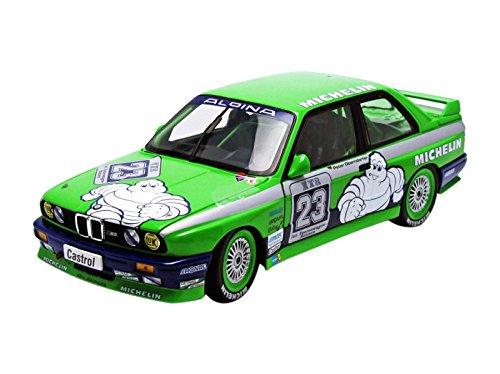 Preisvergleich Produktbild BMW M3 E30 DTM 1988 Team ALPINA vainqueur HOCKENHEIM 1/18 Michelin