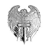 Pin's épinglette aigle épée pour blouson moto et gilet cuir custom