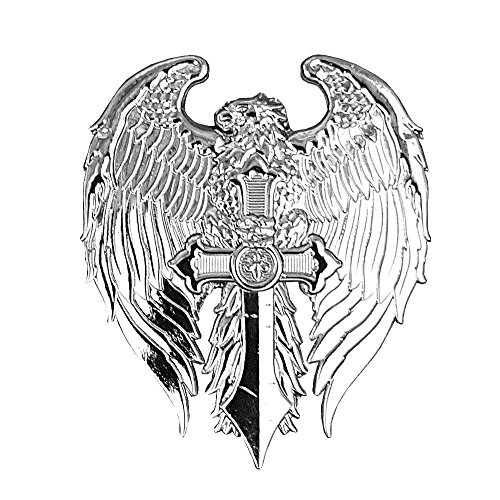 Pin's aquila su una spada croce di malta