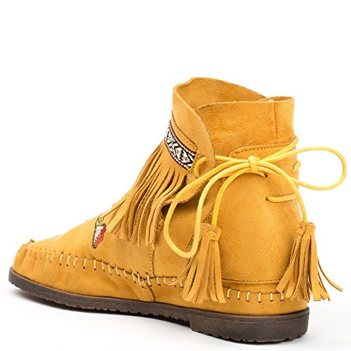 Ideal Shoes ,  Stivali donna Giallo