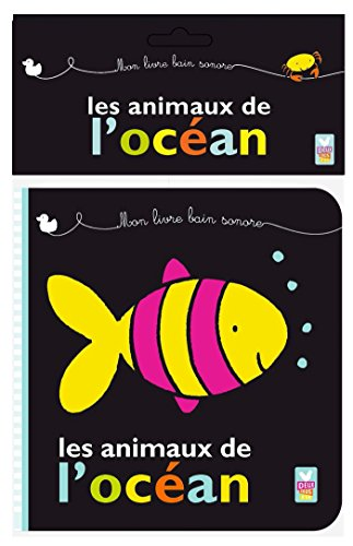 Les animaux de l'océan - livre bain sonore