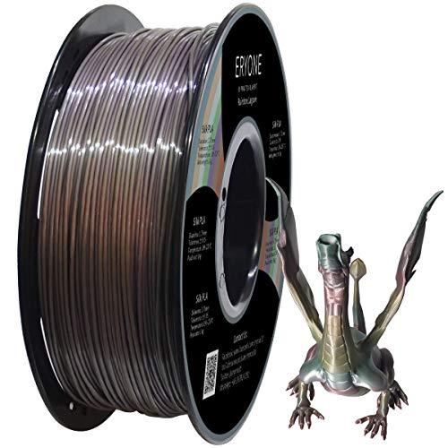 Eryone PLA Filamento Lagoonbow, Rainbow Lagoon Filamento PLA 1.75mm, Laguna y Multicolor PLA Filamento para FDM Impresora 3D 1kg 1 Spool