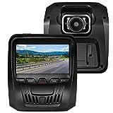 RegeMoudal Dash Cam Telecamera per Auto 1080p, Obiettivo Grandangolare di 150 Gradi, Visione Notturna, Rilevatore di Movimento, Registrazione in Loop, G-Sensor e 3,0' Schermo IPS