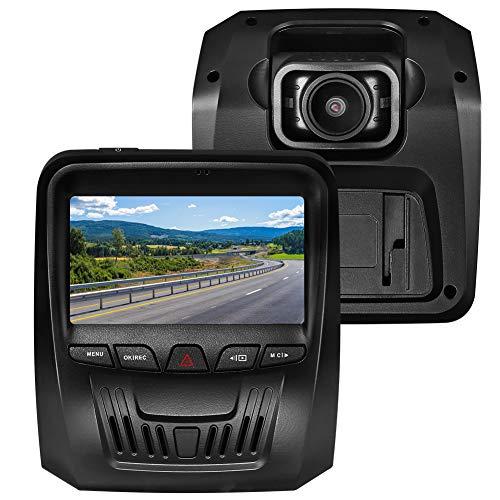 """Cámara de Coche, RegeMoudal 3"""" Dash CAM 1080P Full HD 150° Ángulo Visión Nocturna Cámara para Coche IPS Grabación de Bucle G-Sensor Detección de Movimiento Monitoreo Estacionamiento"""