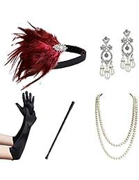 ArtiDeco 1920s Accessories Set Flapper 20s Gatsby Costume Accessories Set Roaring 20s Flapper Accessories