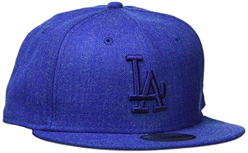 New Era Männer 59FIFTY Mlb Heather ausgestattet Tonal Cap Los Angeles Dodgers Blau (Königsblau), 7 3/4 (Männer New Era Caps)