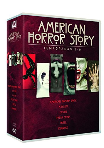American Horror Story Temporada 1-6 [DVD]