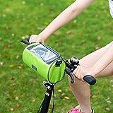 sdfsfgd Fahrrad Lenkertasche mit Telefon Touchscreen - Fenster Radfahren Pakete Wasserdichte Handy Taschen Professionelle Fahrrad Zubehör