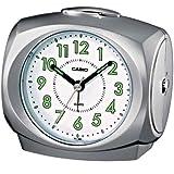 Casio TQ-368-8EF - Reloj despertador (analógico, cuarzo, alarma repetitiva, luz LED)