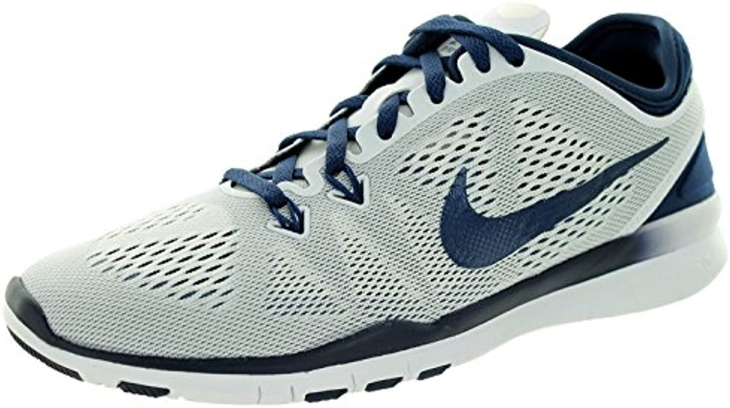 Nike Women'S Free 5.0 TR Fit 5 PRT Training Shoe Women US, White/Midnight Navy, 37.5 B(M) EU/4 B(M) UK