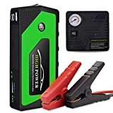 Best Jump Starter For Car Battery - KOBWA 600A 18000mAh Portable Car Jump Starter, Emergency Review
