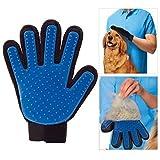 Sauber Pflege Bad Massage Handschuh Bürste Haar Kamm für Hunde Katzen Kaninchen Chinchillas - deShedding Bürste - Rechtshänder