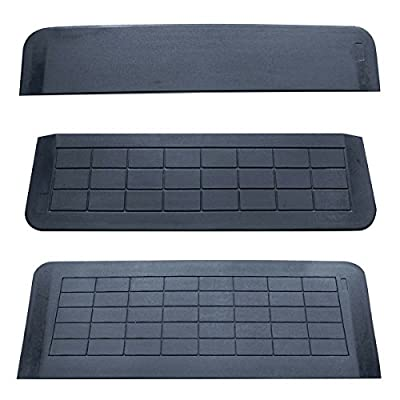 Aidapt Easy Edge Threshold Rubber Ramp (Various Sizes Available)