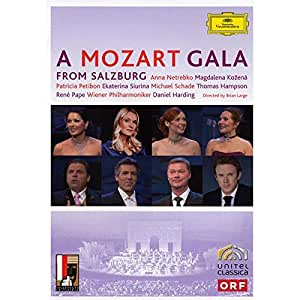 A Mozart Gala From Salzburg [DVD] [2008]