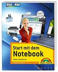Start mit dem Notebook - Auf einen Blick in Farbe, für alle Notebook-Einsteiger: Sehen und Können (Bild für Bild)