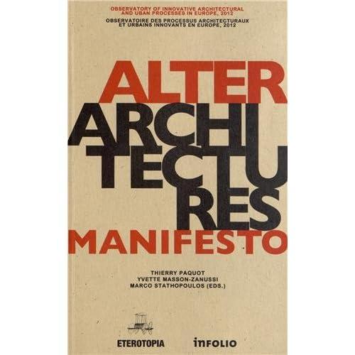 Altérarchitectures Manifesto
