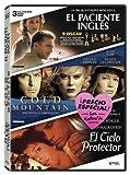 Pack San Valentín: El Paciente Inglés + Cold Mountain + El Cielo Protector [DVD]