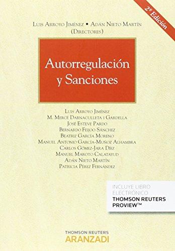Autorregulación y sanciones (Papel + e-book) (Monografía)