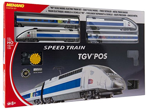MEHANO - T103 - Coffret de Train TGV POS