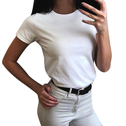 TEBAISE Kurzarmshirt Damen Sport T-Shirt Running Fitness Freizeit Yoga Pilates Shirts Sportbekleidung Kurzarm Oberteile Shortsleeve Top Womens Athletic Short Sleeve Crew Neck Loose Tee T-Shirt Mama (T-shirts Womens Neck Loose)