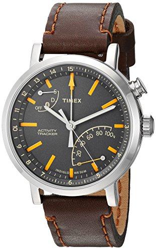 timex-unisex-tw2p92300-metropolitan-activity-tracker-smart-watch-with-dark-brown-leather-strap
