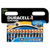 Duracell Duralock LR03 Ultra Power Alkaline-Batterie AAA, 12 Stück