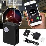 Tellaboull Mini equipaggiamento e Peso Leggero Infrarosso gsm MMS e Allarme Allarme Quad Band Sensor con Fotocamera Mic Tracker x9009
