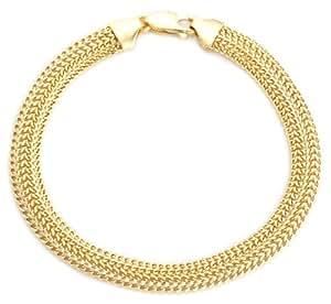 Carissima Gold - Bracelet Maille Gourmette - Or Jaune 9 Carat - 375/1000 - 19 cm - 1.23.5842