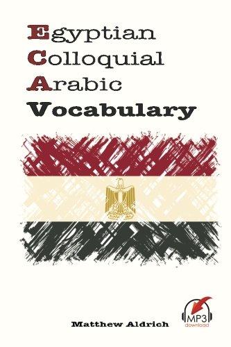 Egyptian Colloquial Arabic Vocabulary por Matthew Aldrich