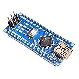 #3: XCLUMA Arduino NANO 3.0 ATMEL ATmega328 MINI CH340G-USB BOARD NO USB CABLE