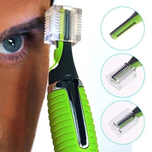 Body Nose Nasal Ears Eyebrow Facial Hair Clipper Trimmer Shaver Remover by F-Dorla (- Batterie Betrieben-haar-trimmer)