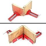 2verstellbare Klemme Backen, wcic 90Grad rechts Winkel Ecke Halter Klemme Multifunktional Bilderrahmen-Halter, Holz-Handwerkzeuge