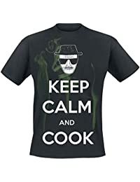 Breaking Bad Keep Calm And Cook T-Shirt black XXL