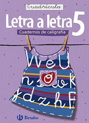 Caligrafía Letra a letra Cuadrícula 5 (Castellano - Material Complementario - Caligrafía Letra A Letra) - 9788421639764 por Ramiro Cabello Sánchez