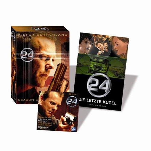 Season 5 (7 DVDs) + ca. 25 Minuten exklusives Bonusmaterial CD-Rom + 52 Seiten Comic