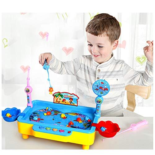 BIEE Badespielzeug, Magnetisches Fischen-Spielzeug, Wasserdichte schwimmende Angeln Spielen, Bildung für Jungen Mädchen Lernen