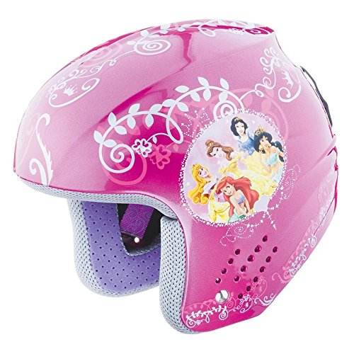 Briko Helm Junior Abfahrts ROOKIE DISNEY PRINCESS rosa Prinzessinnen 100087