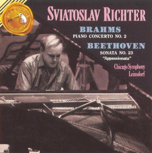 Brahms: Concerto No. 2, Op. 83/Beethoven: Sonata No. 23, Op. 57 Gold Sonata