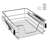 MCTECH, cassetto per la cucina, telescopico, estraibile, anche per l'armadio in camera da letto, 40 cm