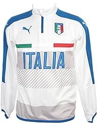 Puma - Figc italia 1/2z sw blcjr - Sweat d'entraînement joueur