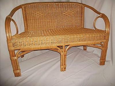 Rattan Sofa Bank (Sessel) NEU in der Farbe HONIG von Rattano