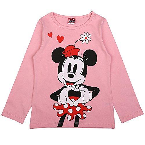 Disney Niñas Minnie Mouse Camiseta, Rosa