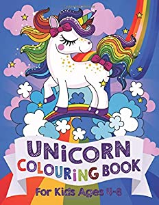 Unicorn Colouring Book: For Kids