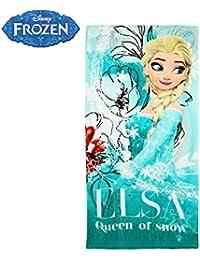WD16937 Toalla de playa de la princesa Elsa de Frozen 140x70 cm 100% algodón