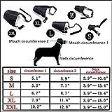 Packung mit 5 Stück Atmungsaktive Sicherheit Small Medium Large Extra-Hundemaulkorb muzzel