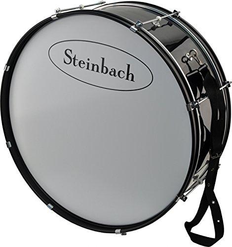 Steinbach Marching Bassdrum 25 Zoll x 10 Zoll mit Trageriemen updn