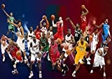 Poster ALL STAR LEGEND NBA BASKET