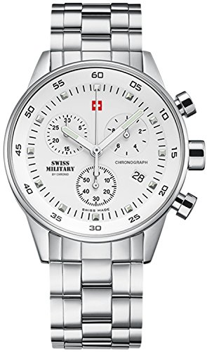 Swiss Military reloj unisex, cronógrafo, 20012ST-2M / SM34005.02